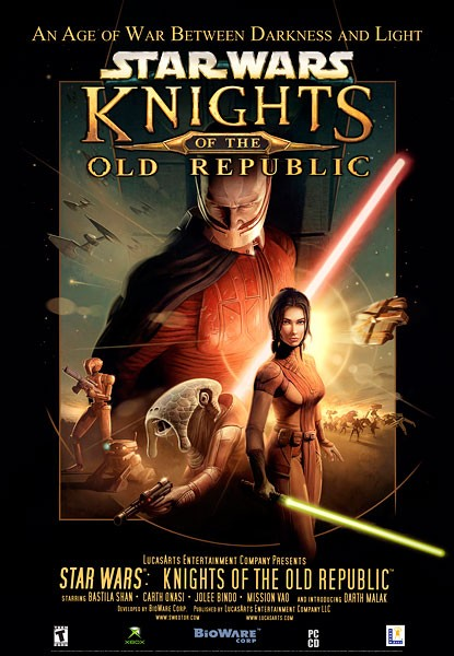 Star Wars: The Knights of the Old Republic - Poster - 1